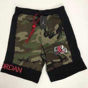 Jordan Jumpman Shorts Classics Camo Fleece Small